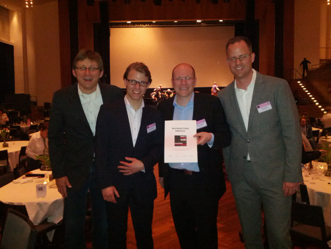 Run my Accounts mit Bronze am Best of Swiss Web Award