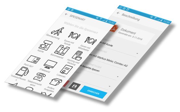 Spesen-App Online Buchhaltung