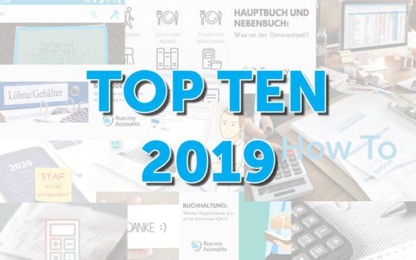 Die besten Buchhaltungsbeiträge aus dem Jahr 2019