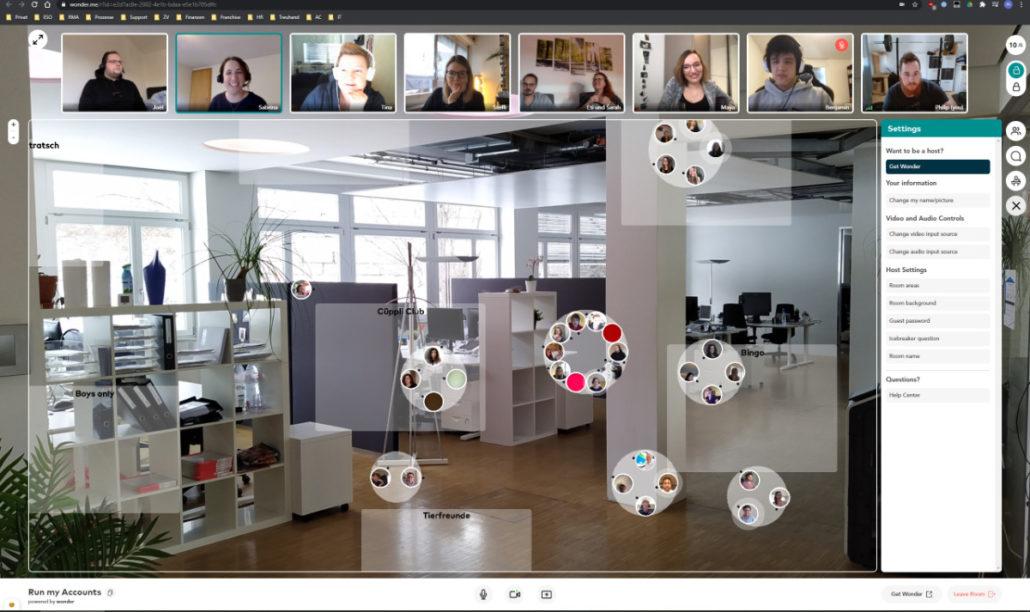 Virtueller Team Apéro - so geht's!